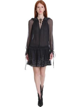 AMIRI Dress In Black Silk