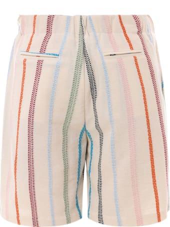 Silted Bermuda Shorts