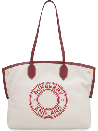 Burberry Society Canvas Tote