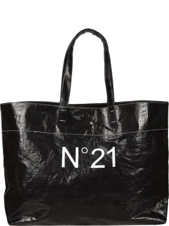 N.21 Logo Print Tote