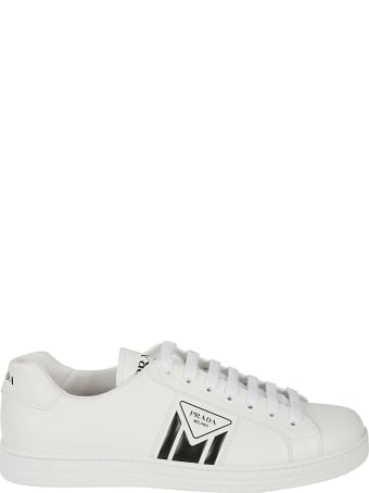 Prada Linea Rossa Side Logo Lace-up Sneakers