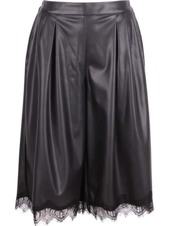 Gold Hawk 'gaucho' Polyurethane Shorts