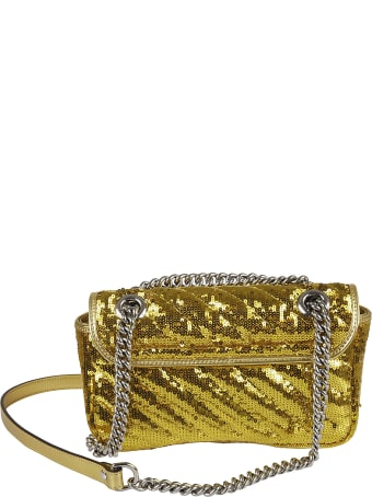 Gucci Sequin-coated Shoulder Bag