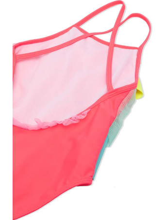 Billieblush One Piece Swimsuit With Ruches
