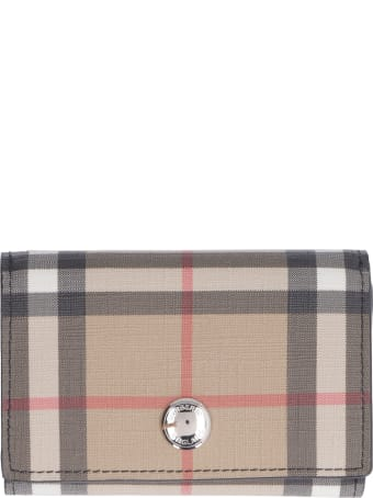Burberry Vintage Check Fabric Wallet
