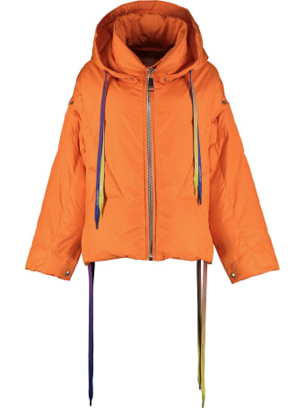 Khrisjoy Khris Hooded Oversize Down Jacket