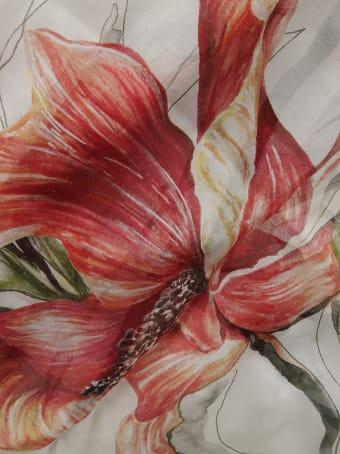 Alexander McQueen Endangered Flower Scarf