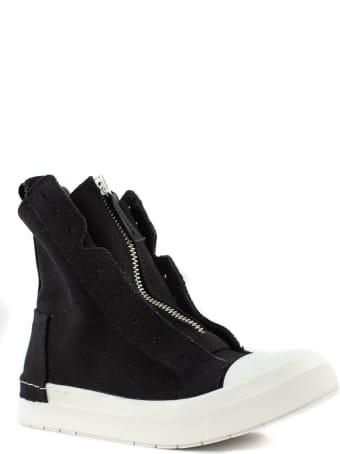 Cinzia Araia High-top Sneaker In Black Cotton