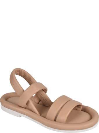 Del Carlo Fluffy Flat Sandals