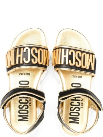 Moschino Sandals With Application