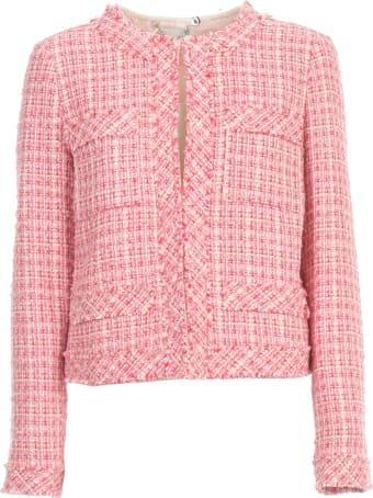 Be Blumarine Short Chanel Jacket Crew Neck
