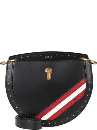 Bally Cecyle Multicolor Leather Shoulder Bag