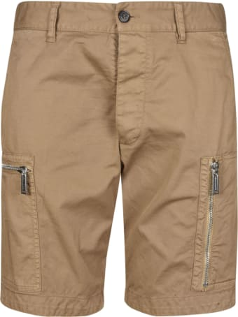 Dsquared2 Dual Zip Pocket Shorts
