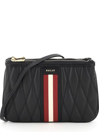 Bally Drice Stripe Quilted Mini Bag