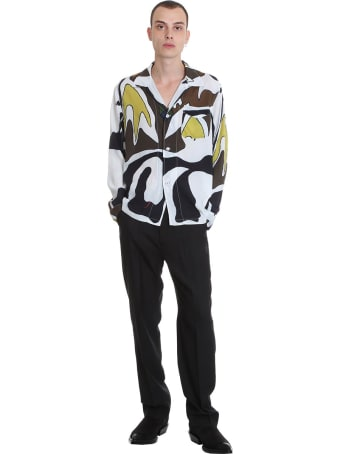Our Legacy Shirt In Multicolor Viscose