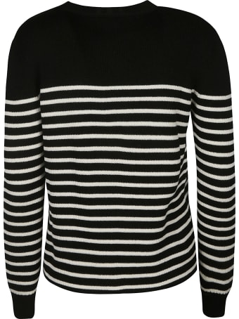 Saint Laurent Stripe Knit Sweater