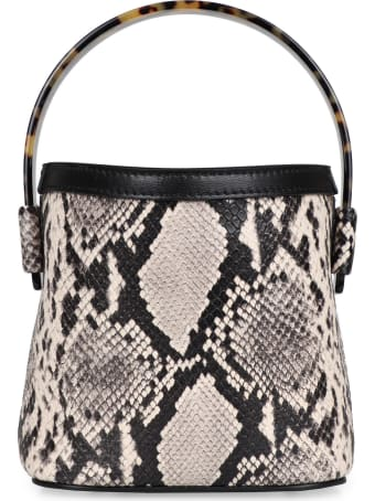 Nico Giani Adenia Python Print Leather Bag