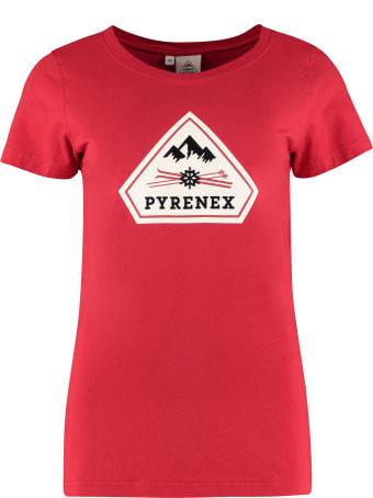 Pyrenex Printed Cotton T-shirt