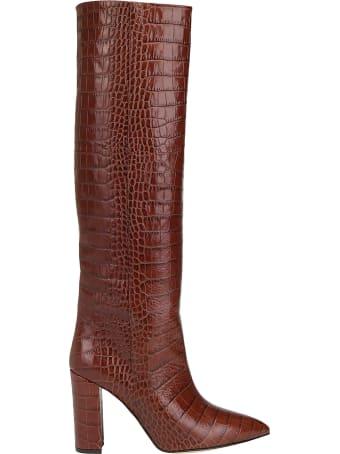 Paris Texas Croco Tall Boots