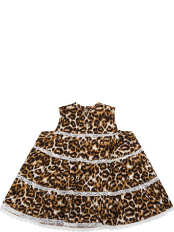 Caffe' d'Orzo Multicolor ''ambra'' Dress For Babygirl
