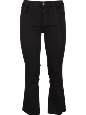 J Brand Selena Mid Rise Cropped Jeans