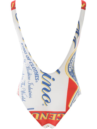 Moschino Budweiser Swimsuit