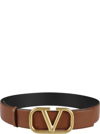 Valentino Garavani V Plaque Belt