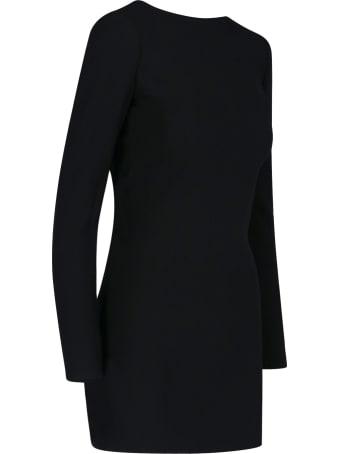 Saint Laurent Rear Knot Mini Dress