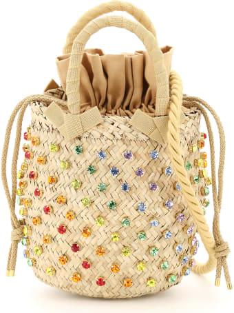Le Niné Nina Small Basket Bag S2-89532 Crystal Rainbow