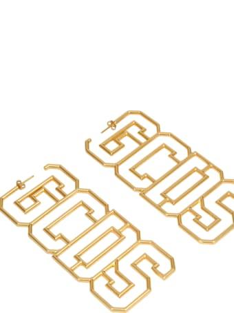 GCDS Gold Earrings