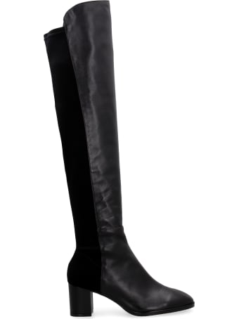 Stuart Weitzman Harper 60 Leather Over-the-knee Boots