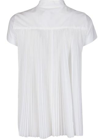 Sacai White Cotton T-shirt