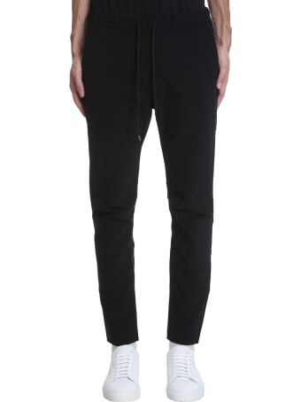 Attachment Pants In Black Polyester
