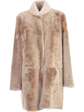 Sylvie Schimmel Coat Reversible W/collar In Contrast