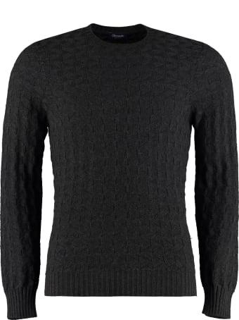 Drumohr Merino Wool Crew-neck Sweater