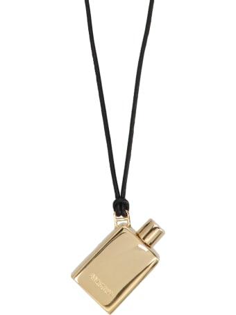 AMBUSH 'perfume Pendant Gold' Ncklace