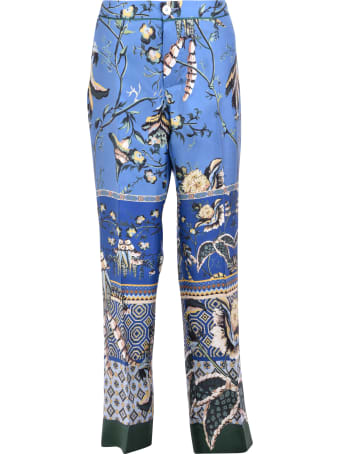 For Restless Sleepers Printed Trousers