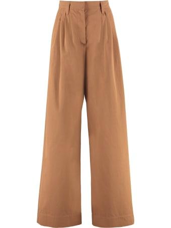 Brunello Cucinelli High-waist Wide-leg Trousers