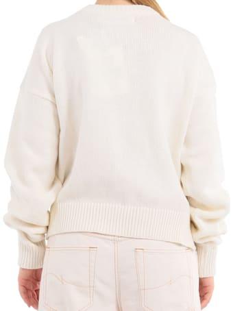 Ottolinger Beige Wrinkle Knit Moabit Sweater