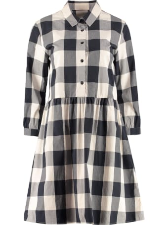 Woolrich Gingham Print Shirtdress