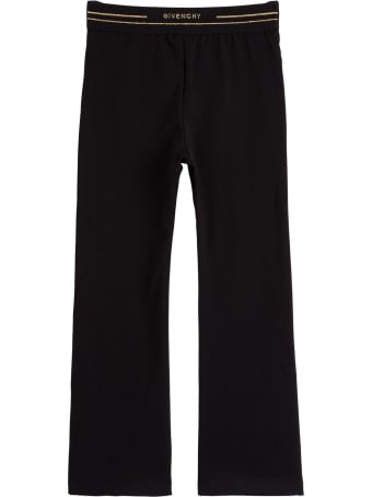 Givenchy Cotton Leggings With Logo