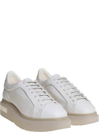Manuel Barcelò Manuel Barcelo 'sneakers In Leather Color Gypsum