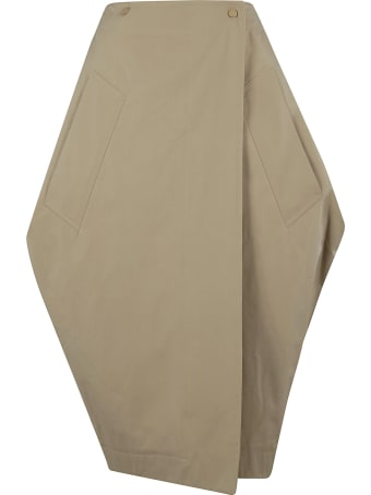 Bottega Veneta Oversized Mid-length Skirt