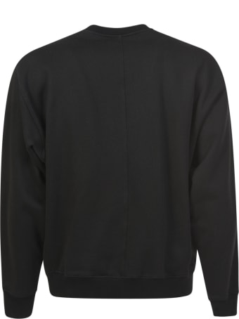 Buscemi Embroidered Crewneck Sweater