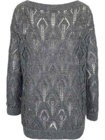 Brunello Cucinelli Dazzling Lace-effect Sweater