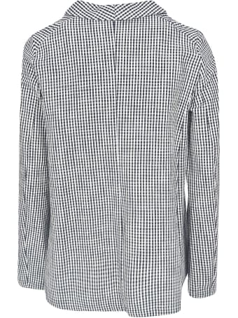 A Punto B Checked Buttoned Jacket