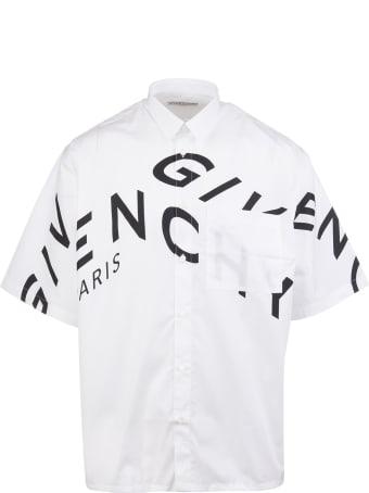 Givenchy Refracted-logo Shirt