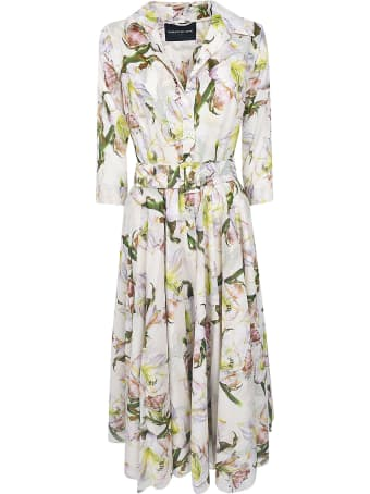Samantha Sung Aster Printed Dress