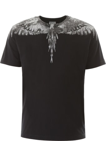 Marcelo Burlon Camouflage Wings Print T-shirt