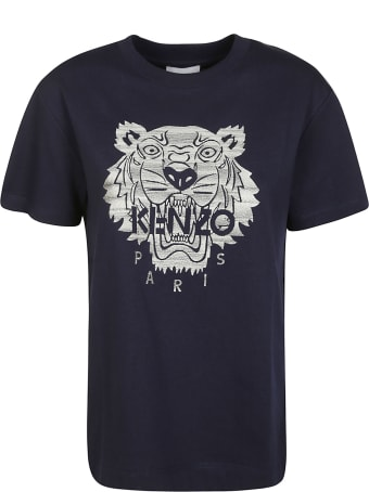 Kenzo Full Embroidered Loose T-shirt
